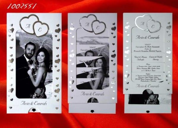 resimli davetiye, hareketli resimli düğün ve nişan davetiyesi