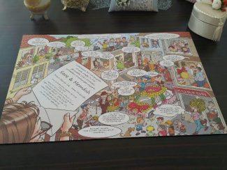Karikatürlü Düğün Davetiyesi