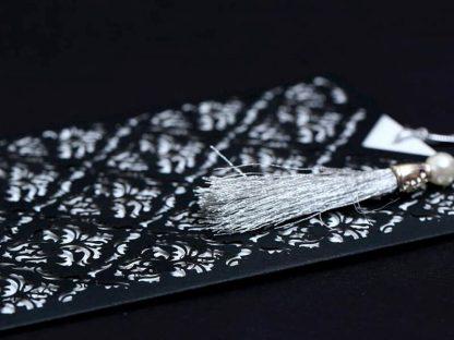 Lüks Siyah Zarflı Davetiye Modeli
