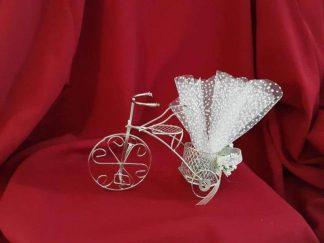 Tel bisikletli nikah şekeri