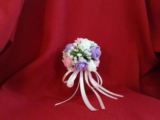 çiçek buketi nikah şekeri modeli