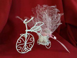 tel bisikletli nikah şekeri modeli