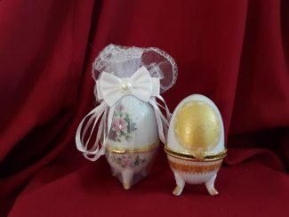 Seramik yumurta nikah şekeri modeli