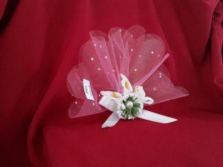 çiçekli nikah şekeri