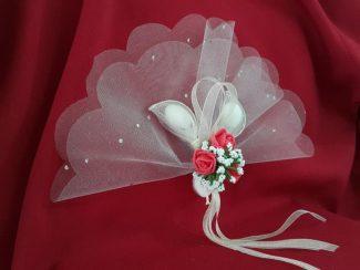 çiçekli nikah şekeri modelleri