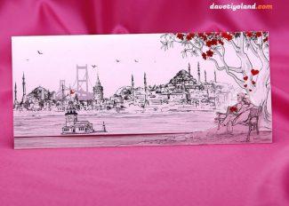 İstanbul Boğazı Davetiye Modeli 04310388