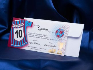 Trabzonspor sünnet davetiyesi