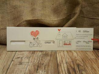 Davetiye, hareket eden bisikletli davetiye modelleri