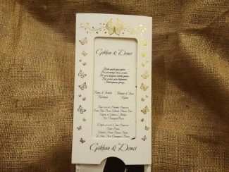 Hareketli fotoğraflı düğün davetiyesi
