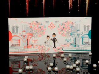 Düğün için çift taraflı örnek - 15043