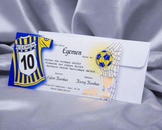 Fenerbahçe Sünnet Davetiyesi