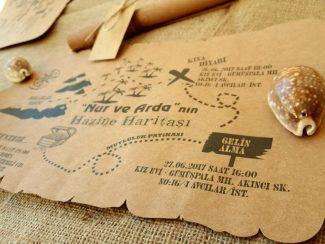 Define Haritası Davetiye