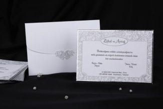 Erdem Davetiye 50507, Kalın Düğün Davetiyesi