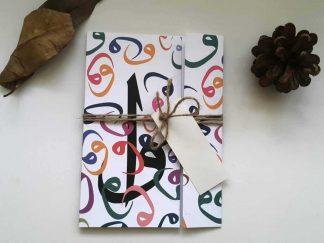Renkli Vavlı Ucuz Fiyatlı İslami Davetiye