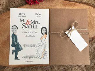 Film Afişi Düğün Davetiyesi