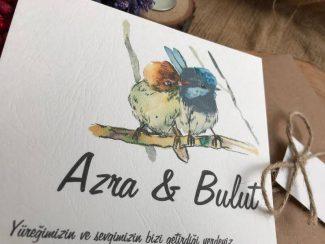 Çifte Kuşlu Davetiye
