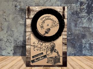 Gramofon Karşılama Panosu