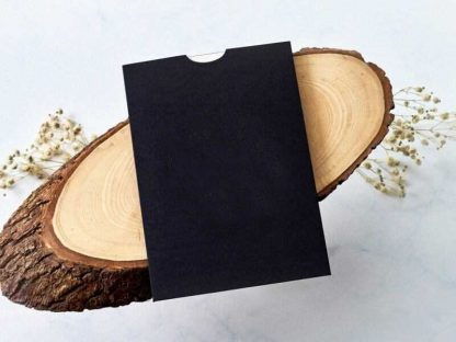 Siyah Davetiye Zarfı