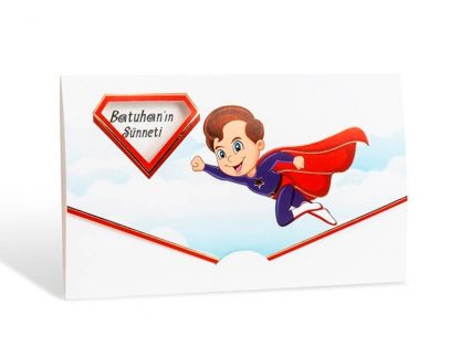 Süperman Sünnet Davetiyesi