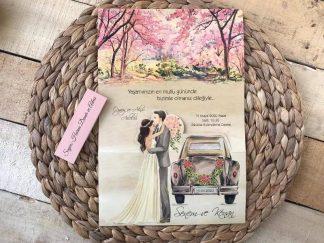 Düğün Arabalı Zarfsız Uygun