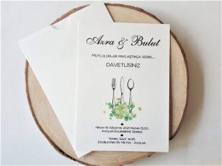 Yemekli Düğünler İçin Çatal, Bıçak ve Kaşıklı